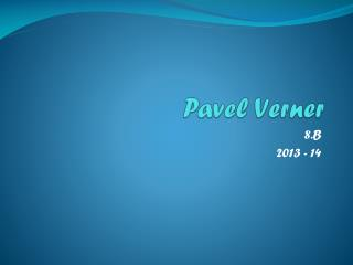 Pavel Verner