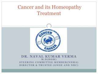 Cancer and its Homeopathy Treatment