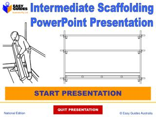Intermediate Scaffolding PowerPoint Presentation