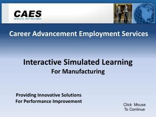 Career Advancement Employment Services