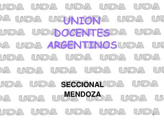 UNION  DOCENTES ARGENTINOS