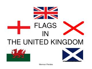 FLAGS IN THE UNITED KINGDOM