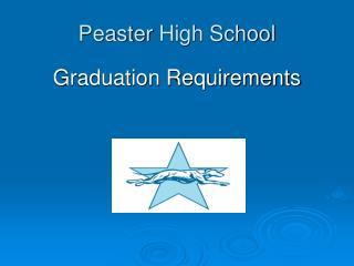 Peaster  High School