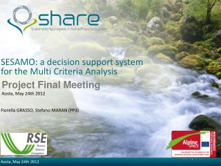 SESAMO: a decision support system for the Multi Criteria Analysis
