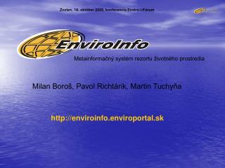 Zvolen, 18. október 2006, konferencia Enviro-i-Fórum