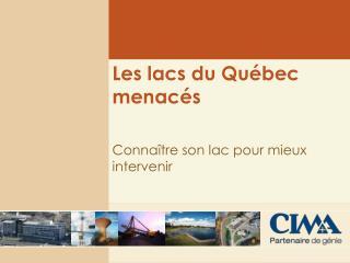 Les lacs du Québec menacés