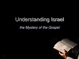 Understanding Israel
