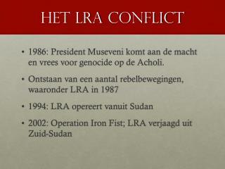 Het  lra  conflict
