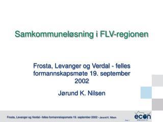 Samkommuneløsning i FLV-regionen