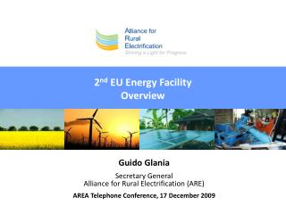 2 nd  EU Energy Facility Overview