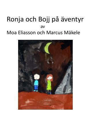 Ronja och  Bojj  på äventyr a v Moa Eliasson och Marcus  Mäkele