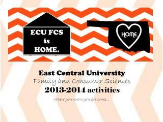 ECU FCS  is  HOME.
