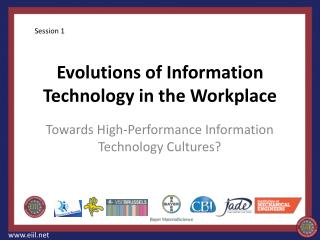 Evolutions of Information Technology in the Workplace