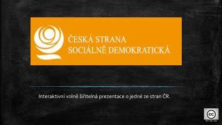 Interaktivní volně šiřitelná prezentace o jedné ze stran ČR.