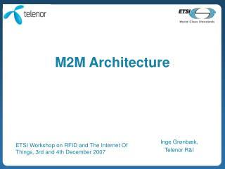 M2M Architecture