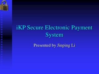 iKP Secure Electronic Payment System