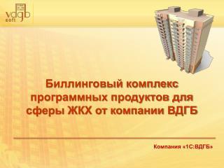 Компания «1С:ВДГБ»