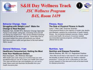 General Wellness, 11am Healthcare Consumerism; Getting the Most from Your Healthcare Dollars