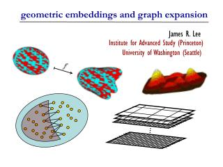 geometric embeddings and graph expansion