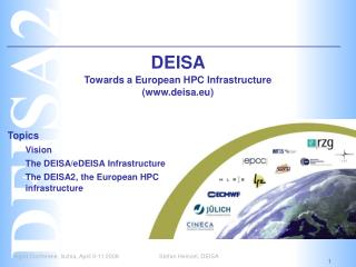 DEISA  Towards a European HPC Infrastructure (deisa.eu)