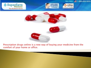 Buy prescription drugs
