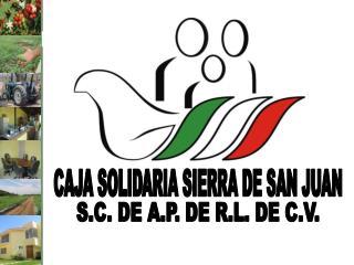 CAJA SOLIDARIA SIERRA DE SAN JUAN
