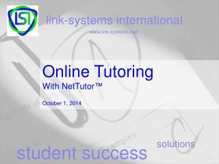 Online Tutoring With NetTutor ™