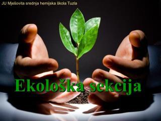 Ekološka sekcija