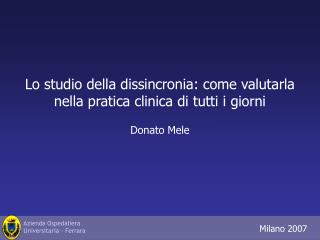 Donato Mele