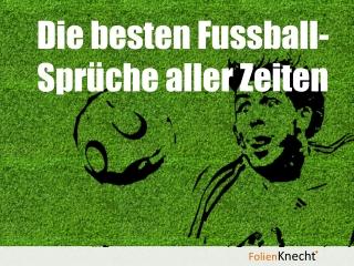 Fussballspr�che