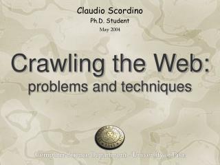 Claudio Scordino Ph.D. Student