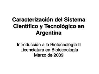 Ministerio de Ciencia Tecnología e Innovación Productiva
