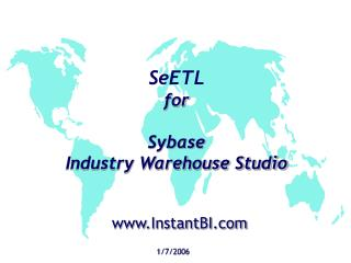 SeETL for  Sybase  Industry Warehouse Studio