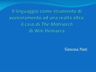 Simona Nati