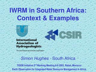 IWRM in Southern Africa: Context & Examples