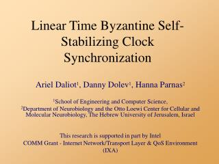 Linear Time Byzantine Self-Stabilizing Clock Synchronization