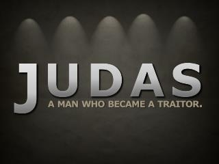 Three Facts About Judas: A Man, Not A Monster. Jhn 6:70-71  – No different than Peter in Mat 16:23