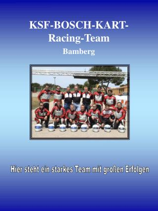 KSF-BOSCH-KART-Racing-Team Bamberg