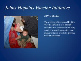 Johns Hopkins Vaccine Initiative