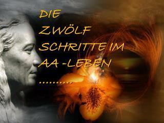 DIE                  ZW�LF SCHRITTE IM AA -LEBEN   ..........