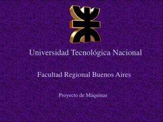 Universidad Tecnol�gica Nacional