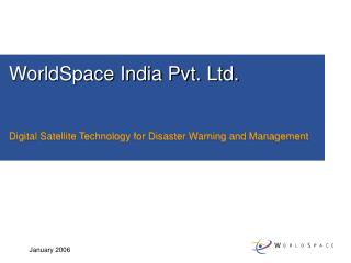 WorldSpace India Pvt. Ltd.