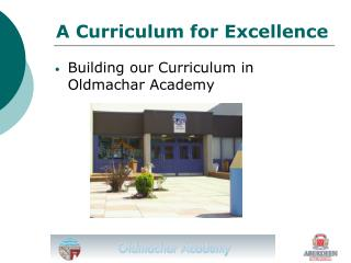 A Curriculum for Excellence