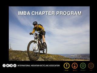 IMBA CHAPTER PROGRAM