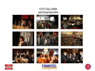 CFO Day 2008 partnerpropositie