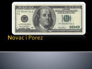 Novac i Porez