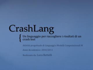 CrashLang