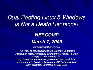 Dual Booting Linux & Windows is Not a Death Sentence!