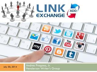 Link Exchange + Social Media Explained