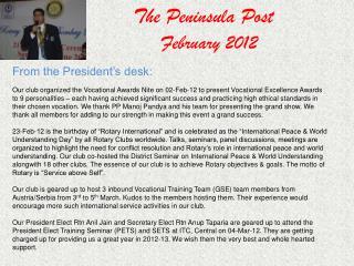 The Peninsula Post